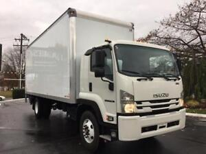 2018 Isuzu FTR With 22' box and 3000lbs Alumium Tailgate