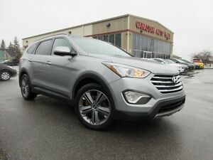 2013 Hyundai Santa Fe XL LIMITED AWD, COOLED SADDLE SEATS!
