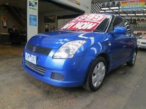 2006 Suzuki Swift EZ EZ 5 Speed Manual Hatchback Mordialloc Kingston Area Preview