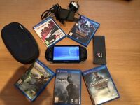 ONE YEAR OLD PSVITA EXCELLENT CONDITION HARDLY EVER USED LOADS OF GAMES.