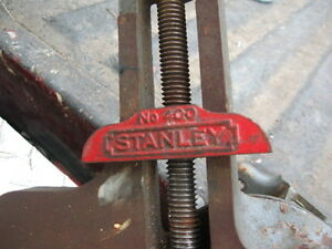RARE Stanley # 400 mitre vice Cambridge Kitchener Area image 2