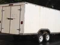 Complete Hunting Camp, including Trailer, Wall Tent/Frame, etc.