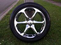 20inch BOSS Chrome Rims