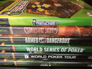 23 XBOX GAMES INCL. MIDNIGHT CLUB 3, STAR WARS, JUSTICE LEAGUE
