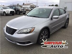 Chrysler 200 S V6 Cuir/Tissus MAGS 2014