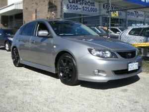 2007 Subaru Impreza MY08 RS (AWD) Grey 4 Speed Automatic Hatchback Wangara Wanneroo Area Preview