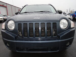 2007 Jeep Compass SPORT 4X4-SUNROOF-HEATED SEATS--REMOTE STARTER Edmonton Edmonton Area image 1