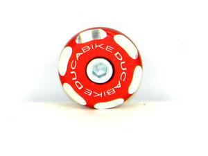 DUCABIKE Right Front Wheel Cap TRD03A - Red - New