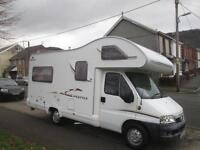 2004 SWIFT LIFESTYLE 590RL FOUR BERTH, REAR LOUNGE MOTORHOME FOR SALE
