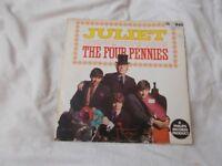 Vinyl LP Juliet – The Four Pennies Wing WL 1146 Mono