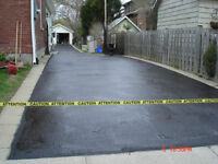 Driveway Sealer … Dries in 2-4 hours, Call today