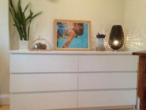 IKEA MALM 6-DRAWER DRESSER
