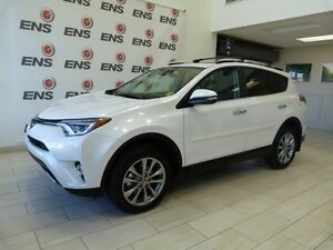 Toyota Certified 2016 Rav 4 Limited with only 10,000 kilometers