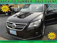 2010 Volkswagen Tiguan SUV has Sunroof, Leather, ALL Wheel Drive