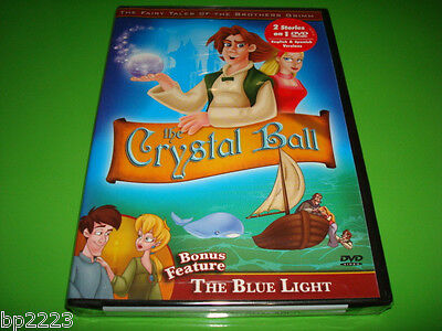 Tal Crystal (THE CRYSTAL BALL & THE BLUE LIGHT 2-Feature DVD, BROTHERS GRIMM FAIRY TALES-NEW )