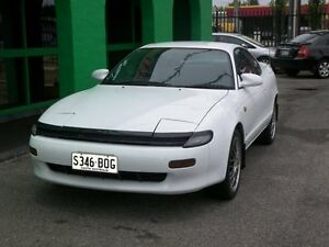 1990 Toyota Celica ST184R SX White 4 Speed Automatic Nailsworth Prospect Area Preview