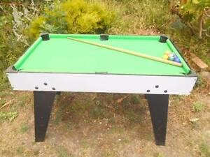 A Games table. Mount Pleasant Ballarat City Preview