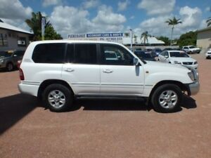 2005 Toyota Landcruiser UZJ100R Sahara White 5 Speed Automatic Wagon
