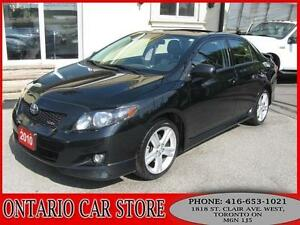 2010 Toyota Corolla XRS !!! 1 OWNER CARPROOF CLEAN NO ACCIDENTS!
