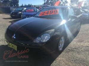 2005 Mitsubishi Magna TW Series II LS Black 4 Speed Auto Sports Mode Wagon Lansvale Liverpool Area Preview