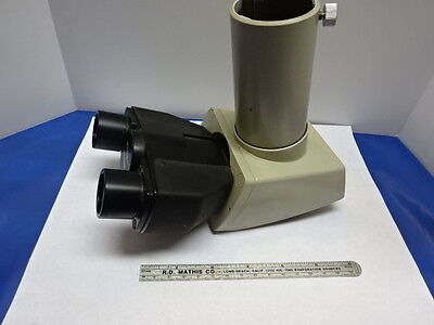 Microscope Part Nikon Japan Head Trinocular Optics As Is 83-25
