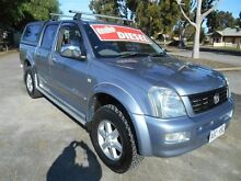2005 Holden Rodeo RA MY06 Upgrade LT (4x4) Blue 4 Speed Automatic Crewcab Nailsworth Prospect Area Preview