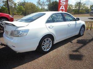 2012 Toyota Kluger GSU40R MY12 Grande 2WD White 5 Speed Sports Automatic Wagon Winnellie Darwin City Preview