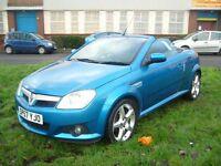 Vauxhall Tigra 1.8i 16V Exclusiv 2dr (blue) 2007