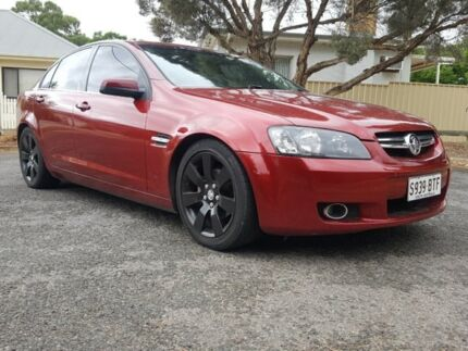 2010 Holden Berlina VE II Burgundy 6 Speed Sports Automatic Sedan Enfield Port Adelaide Area Preview