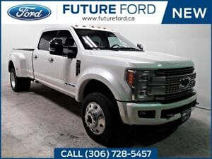 2018 Ford F450 SUPER DUTY DRW PLATINUM/FX4/ULTIMATE PACKAGE