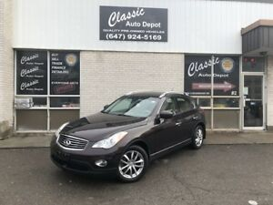 2010 INFINITI EX35*LEATHER*SUNROOF*AWD*BACK-UP CAMERA*