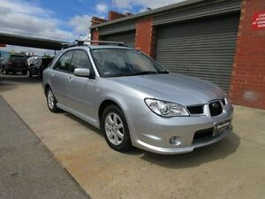 2007 Subaru Impreza MY07 2.0I Luxury (AWD) Silver 4 Speed Automatic Hatchback Holden Hill Tea Tree Gully Area Preview