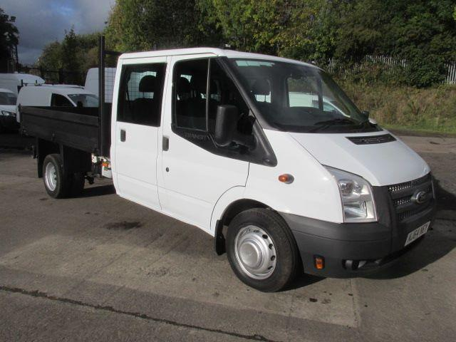 Ford Transit 350 LWB D/Cab Tipper Tdci 100Ps [Drw] Euro 5 DIESEL MANUAL (2014)