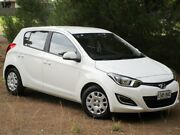 2014 Hyundai i20 PB MY14 Active White 4 Speed Automatic Hatchback Reynella Morphett Vale Area Preview