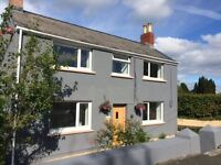 4 BED NEWLY RENOVATED DETACHED PROPERTY WITH COUNTRYSIDE VIEWS NR TENBY/SAUNDERSFOOT