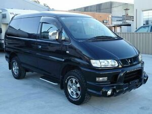 2005 Mitsubishi Delica Spacegear High Roof 8 seats Black 4 Speed Automatic Wagon Taren Point Sutherland Area Preview