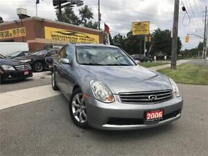 2006 INFINITI G35,ONE LOCAL OWNER,ACCIDENT FREE