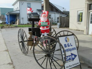 LOTS OF ANTIQUE AND VINTAGE CHRISTMAS  AT B&L ANTIQUES