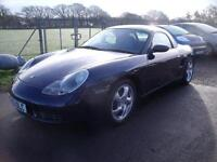 PORSCHE BOXSTER S WITH HARD TOP, Blue, Manual, Petrol, 2000