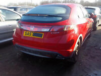 HONDA CIVIC 2.2 CDTI 2006-2011 BREAKING FOR SPARES HAVE FEW IN STOCK PLEASE CALL 07814971951