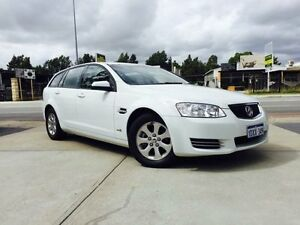 2012 Holden Commodore VE II MY12 Omega White 6 Speed Automatic Sportswagon Beckenham Gosnells Area Preview