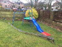 Early Learning Centre Climbing frame, slide with extension and extention ladder plus spare parts
