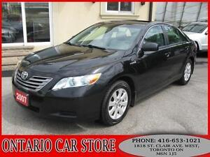 2007 Toyota Camry Hybrid XLE LEATHER SUNROOF