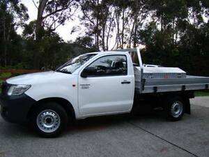 2012 Toyota Hilux Workmate Ute Gosford Gosford Area Preview