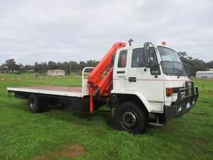 CRANE TRUCK ISUZU FVR900 HIAB Pickering Brook Kalamunda Area Preview