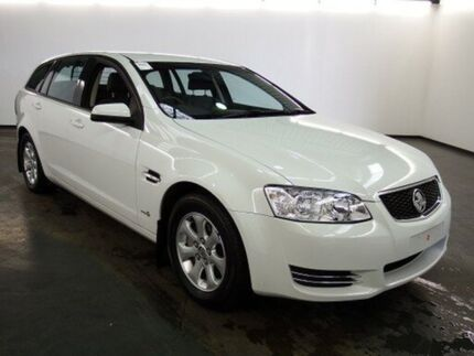 2012 Holden Commodore VE II MY12 Omega (LPG) Heron White 6 Speed Automatic Sportswagon Albion Brimbank Area Preview