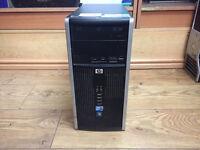 Hp Compaq 6000 MT Core 2 Duo E8500 3.16GHz 4GB Ram 250GB HDD Win 7 PC