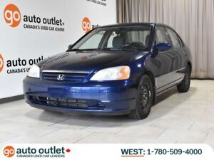 2001 Honda Civic LX-G Sedan, A/C, Power Mirrors