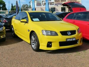 2011 Holden Commodore VE II SS Yellow 6 Speed Sports Automatic Sedan Minchinbury Blacktown Area Preview