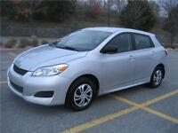 2010 TOYOTA MATRIX FWD (AUTOMATIQUE, 135,000KM, ULTRA-ECONOMIQUE